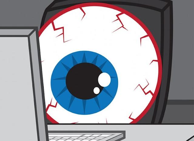 طريقة علاج إجهاد العين