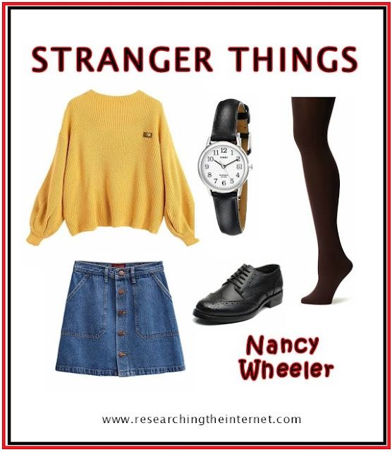 stranger things outfits nancy