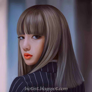 Black Pink Lalisa Manoban Fan Art