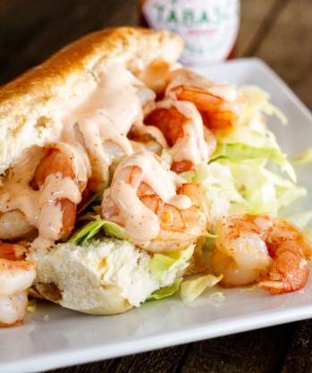 Shrimp With Creamy Cajun Sauce