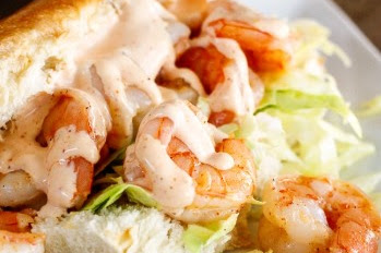 Shrimp With Creamy Cajun Sauce