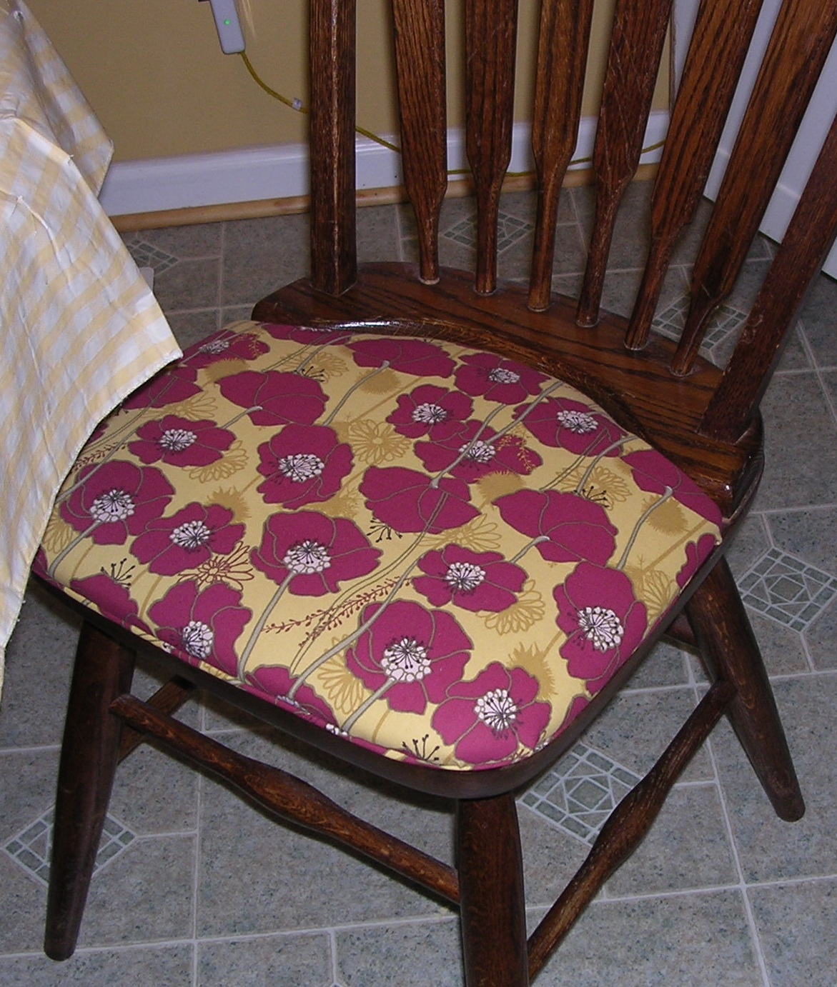 what type of fabric to cover kitchen chairs chair for two people the quilted librarian recovering