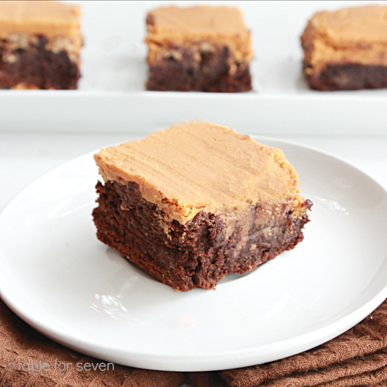 Butterscotch Kit Kat Brownies