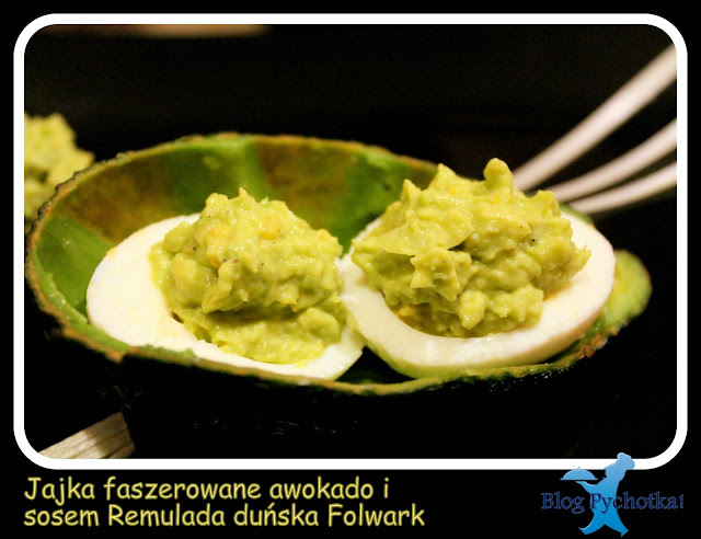 Jajka z awokadao