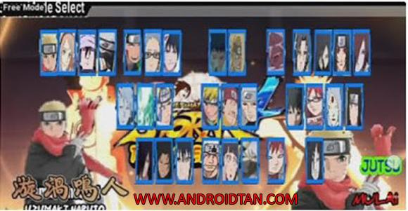 Download Naruto Senki Mod Apk v2.0 The Last Edition
