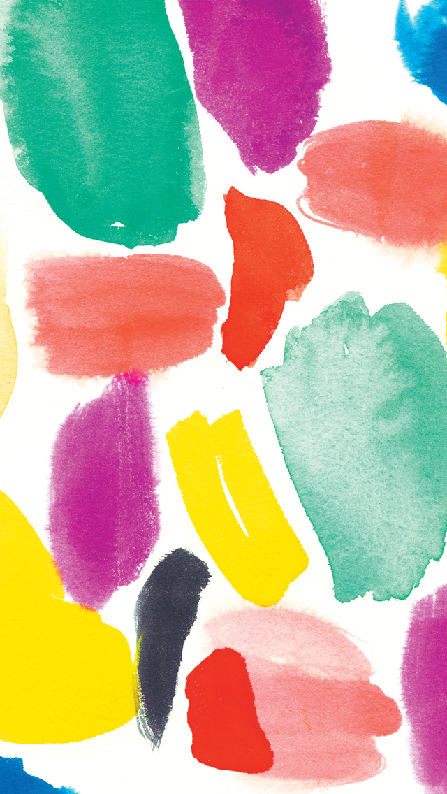 iphone watercolor wallpaper