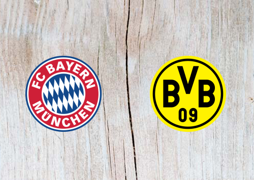 Bayern Munich vs Borussia Dortmund Full Match & Highlights 6 April 2019