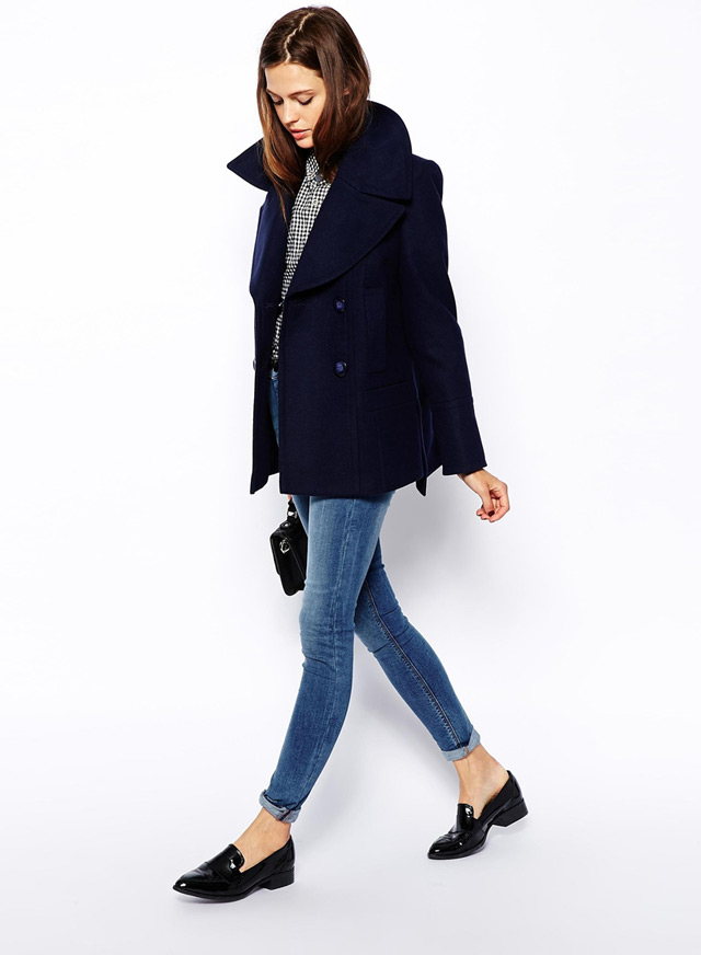 Best coats just click away for fall 2014, pea coat