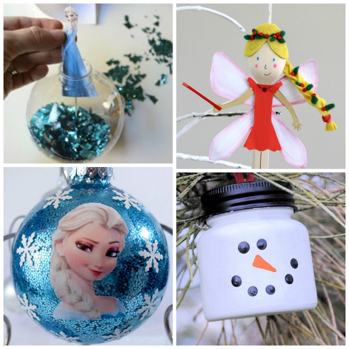 40 ORNAMENTS FOR KIDS TO MAKE (THAT THEY WILL LOVE!)