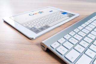 La tablette et le clavier