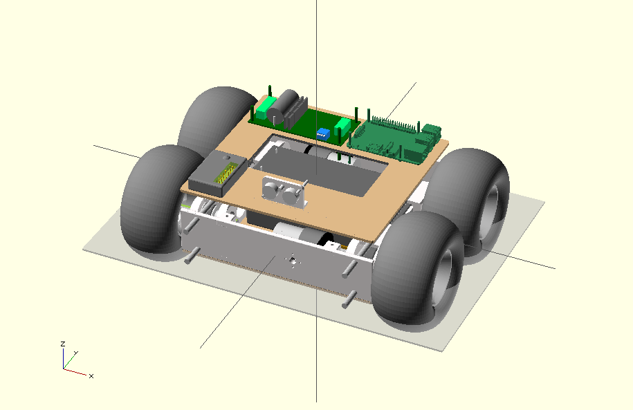 Building robotics ground vehicle  Part 1 - mechanics