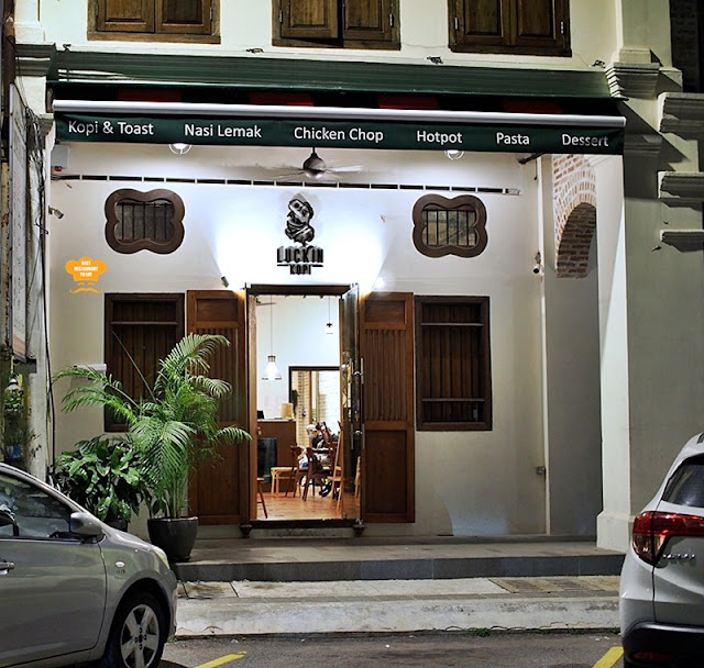 Luckin Kopi Petaling Street Kuala Lumpur Chinatown