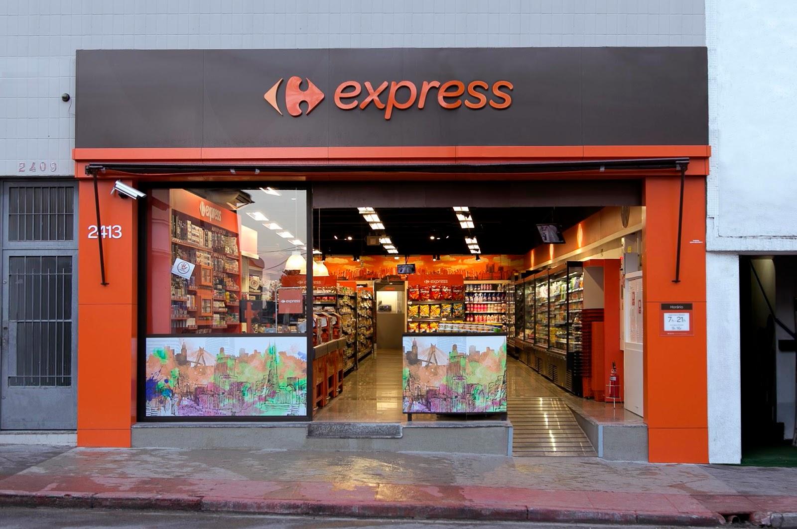 38b261d6d1 O Carrefour lança hoje no Brasil seu formato de loja de proximidade, o  Carrefour Express. Com grande know-how neste formato em diversos mercados  do mundo ...