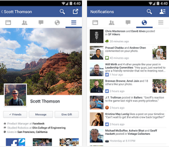 Facebook v35.0.0 Android Image