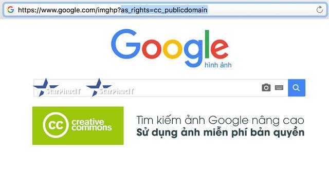 Thủ thuật tìm kiếm tất cả hình ảnh không bị bản quyền - sử dụng chạy quảng cáo