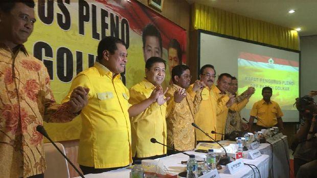 vo2 - Novanto Pimpin Pleno Golkar dengan Kawalan Polisi