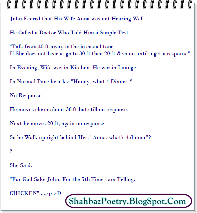 English Jokes Latest 2016 Plus Beautiful Sms  Shahbazpoetry- All About Fun Place-2348
