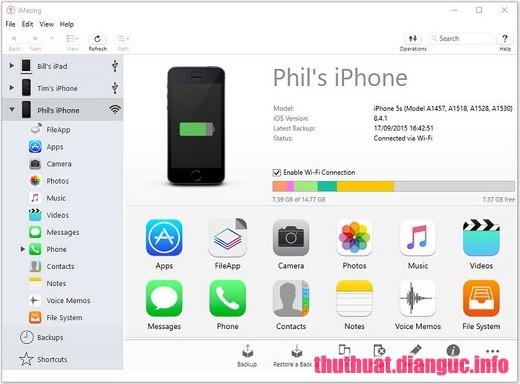 Download DigiDNA iMazing 2.8.1 Full Crack, phần mềm chuyển tập tin iPhone dành cho PC và Mac, DigiDNA iMazing, DigiDNA iMazing free download, DigiDNA iMazing full key,