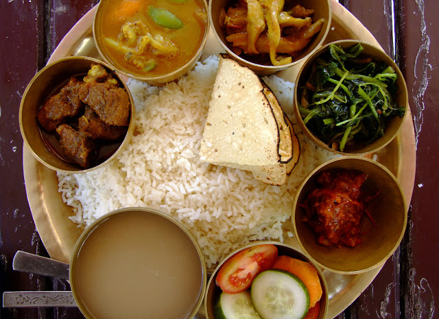 Nepalese Meal