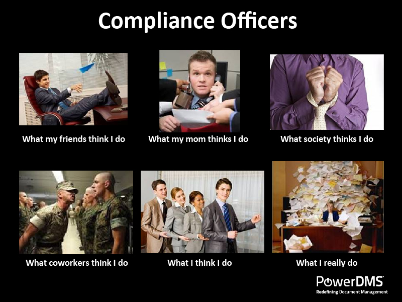 Compliance Meme: What Compliance Officers Really Do