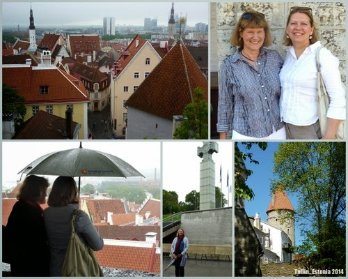 Photo collage of our time visiting Tallinn, Estonia in 2014