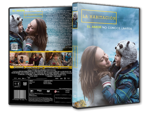 Cover diago room dvd cover for Habitacion pelicula 2015