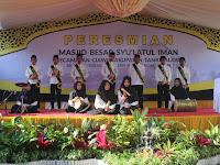 MTs Cijangkar Mengikuti Kegiatan Peresmian Masjid Agung Syu'latul Iman Kecamatan Ciawi