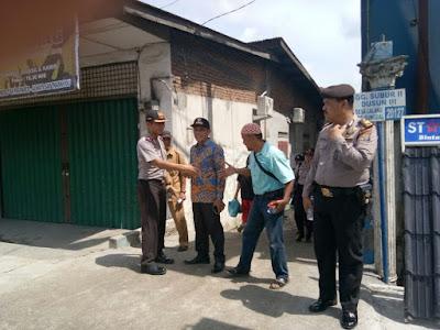 Kapolsek Sunggal Blusukan di Gg Subur Kampung Lalang