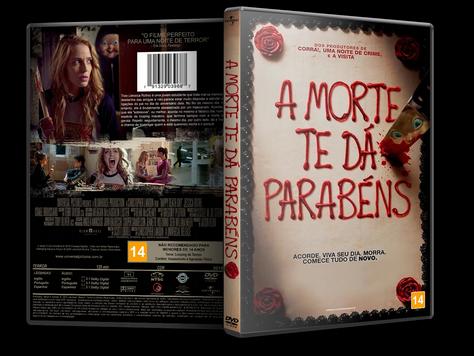 Capa DVD A Morte Te Dá Parabéns [Custom]