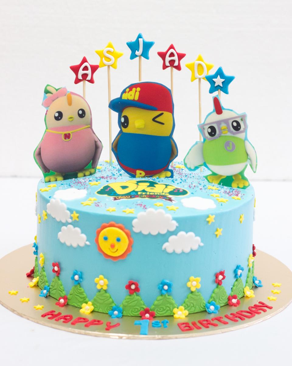 Cake Images For Didi : Lynn BabyCakes: Kek Tema Didi & Friends