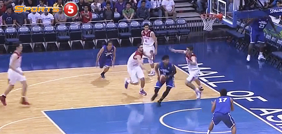Bobby Ray Parks Jr NASTY Spin Move Against Turkey (VIDEO)