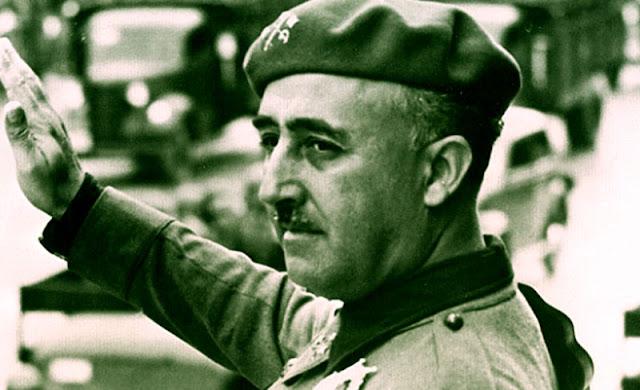 Jendral Francisco Franco yang mengakhiri perang saudara spanyol