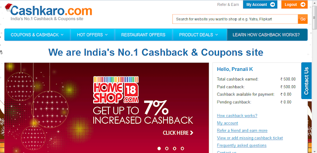 Cashkaro.com: A Leading Cashback & Coupon website Review