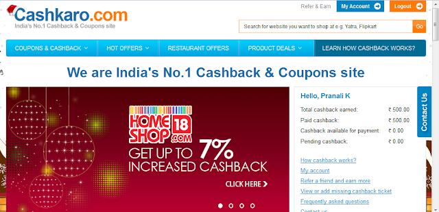 Cashkaro.com: A Leading Cashback & Coupon website Review