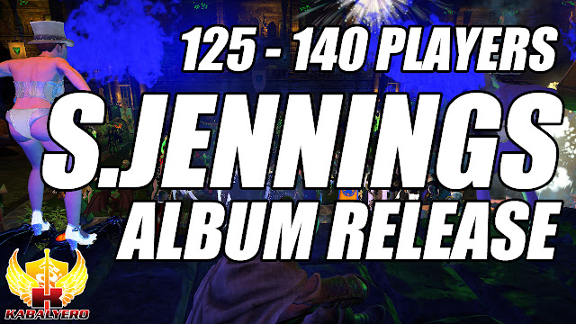 125 to 140 Players In The Scene • Extremely Laggy Shooter Jennings Album Release Party