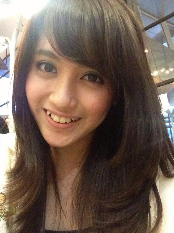 Koleksi Foto Nabilah JKT48 di Twitter Bulan Agustus