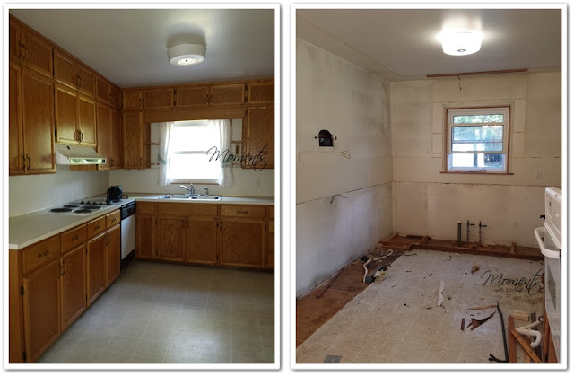 Gutting our 1950s Kitchen.