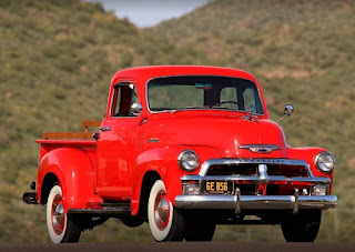 1954 Chevrolet Series 3100 Pickup Front Right