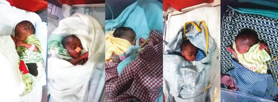 Father Of Quintuplets Delivered In Ibadan Seeks Help