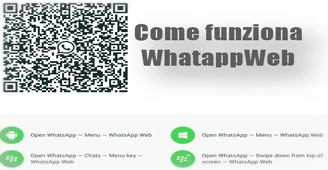 come funziona whatsapp web