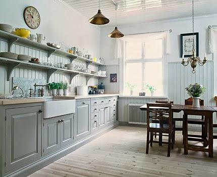 cuisine style scandinave industriel. Black Bedroom Furniture Sets. Home Design Ideas