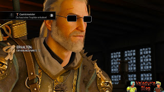 Witcher with sunglasses