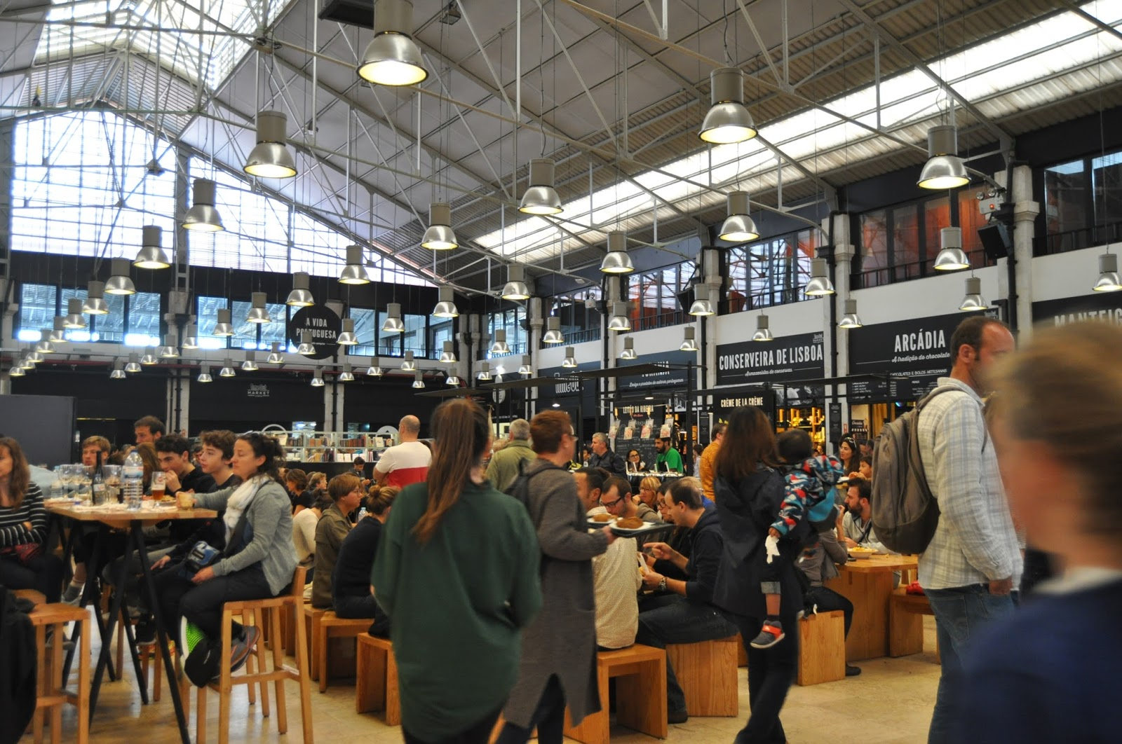 Time Out food market, 8 Great Discoveries in Lisbon, photo by Modern Bric a Brac