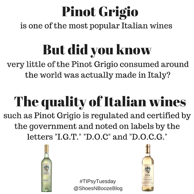 Italian Wine Label Tips from Shoes N Booze and Barone Fini