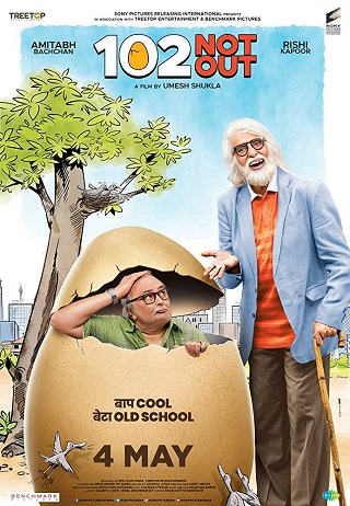 102 Not Out 2018 Hindi 300MB DVDRip 480p