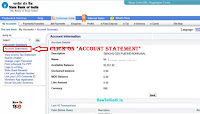 check sbi bank account details