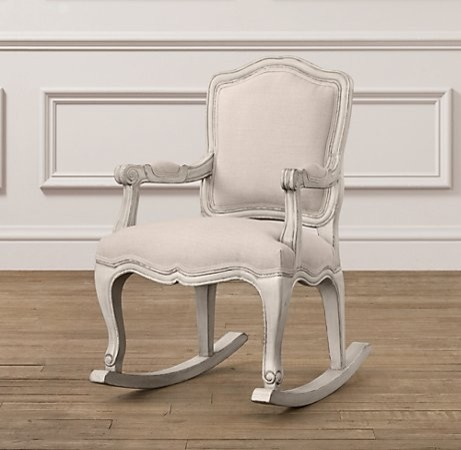 Restoration Hardware Inspired Rocking Chair with General ...