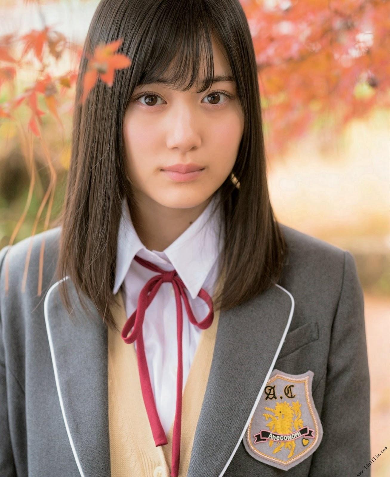 Yamashita Mizuki 山下美月, BUBKA 2018 No.02 (ブブカ 2018年02月号)