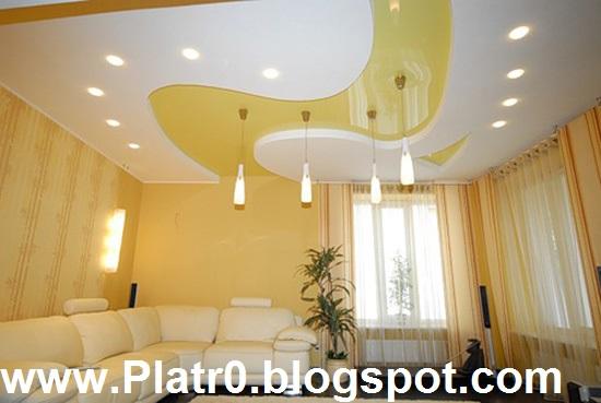 Deco Plafond Platre - Décoration Platre Maroc - Faux Plafond Dalle ...