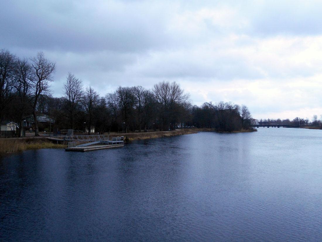 Il fiume Helge å a Kristianstad